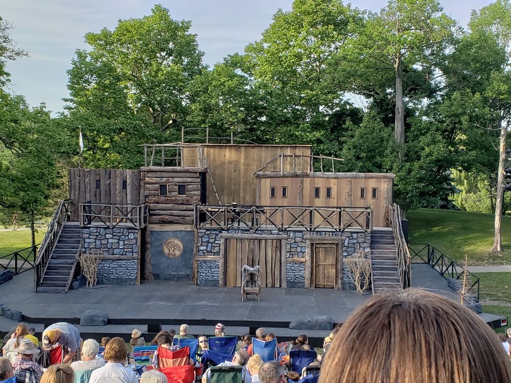 Social Spots from Shakespeare In Delaware Park
