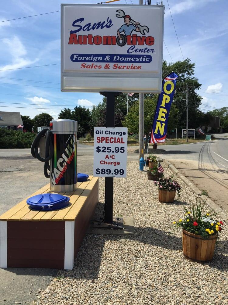 Sam's Automotive Center: 413 Hwy 28, Harwich, MA