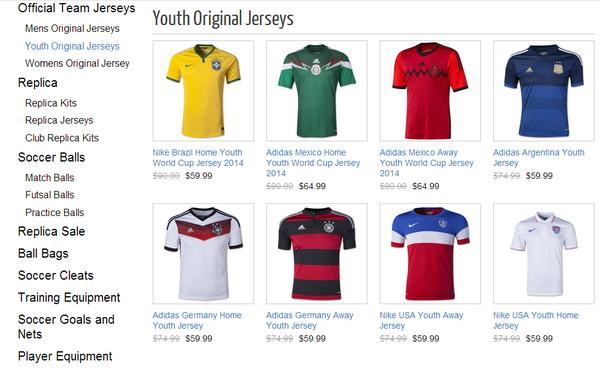 half off 9b983 1640c Soccer Shop LA - Sports Wear - 313 S San Pedro St, Downtown ...