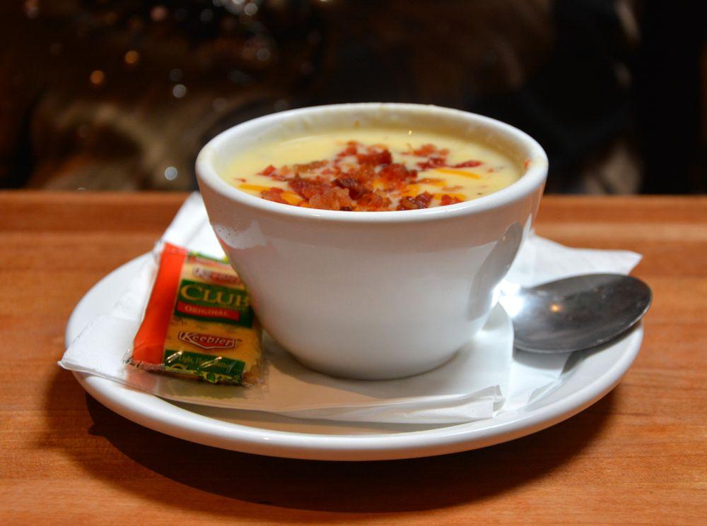 Photo Of Cheddaru0027s Scratch Kitchen   Charlotte, NC, United States. Potato  Soup