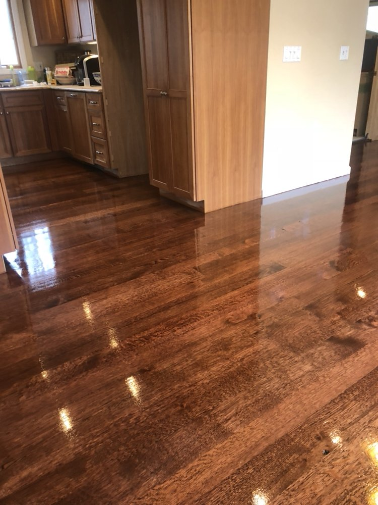 Red Mahogany Stain Oil Based Semi Gloss Finish