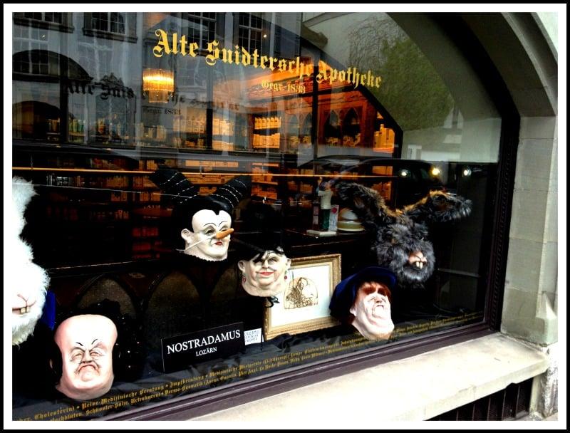 Alte Suidtersche Apotheke: Bahnhofstrasse 21, Luzern, LU