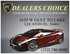 Dealers Choice Auto Sound Security: 1639 W Gulf To Lake Hwy, Lecanto, FL