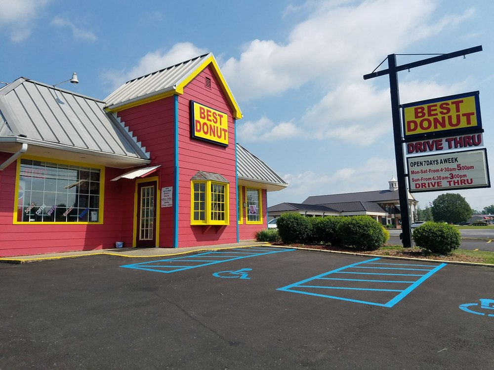Best Donut: 1401 E Broadway St, Campbellsville, KY