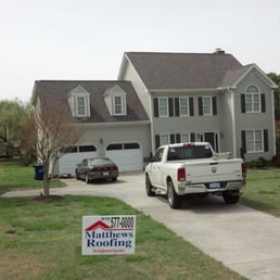 Photo Of Matthews Roofing   Angier, NC, United States. Our Guys Get The