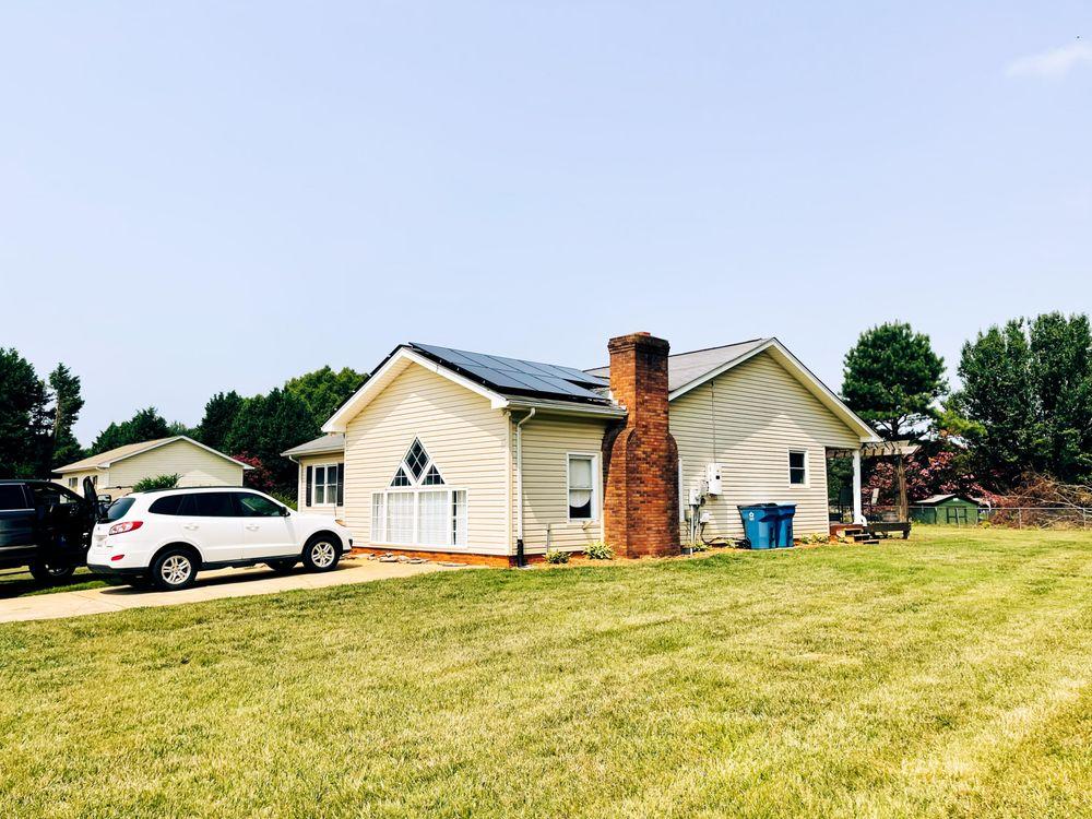Lumina Sun Smart Home Solar: 114 Morlake Dr, Mooresville, NC