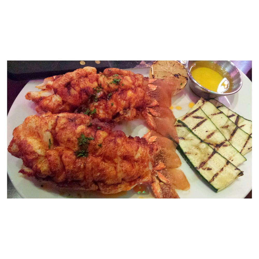 Twin african lobster tails babyyyy me love yelp for King s fish house long beach ca