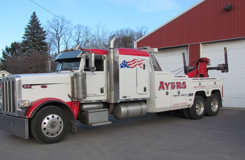 Ayers Towing Service: 310 S Mountain Blvd, Mountain Top, PA