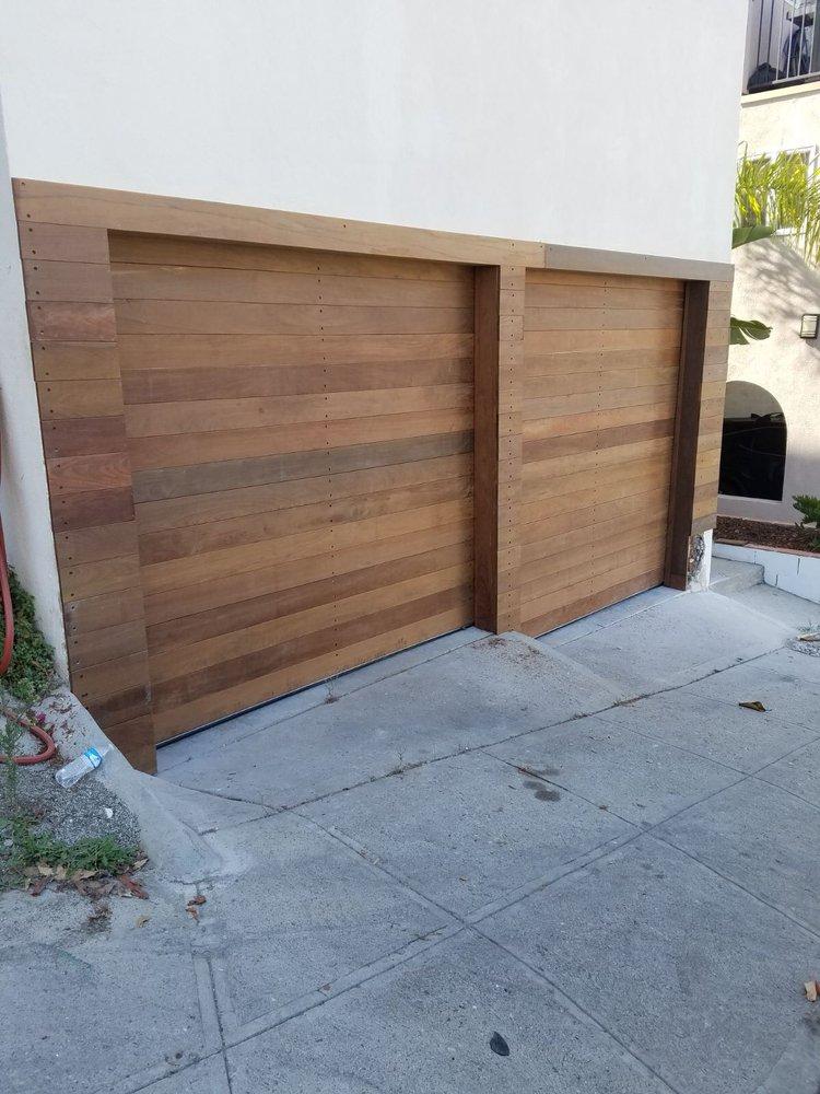 Custom Door Made By Angel Garage Door And Gate Santa Monica Ca Ipe