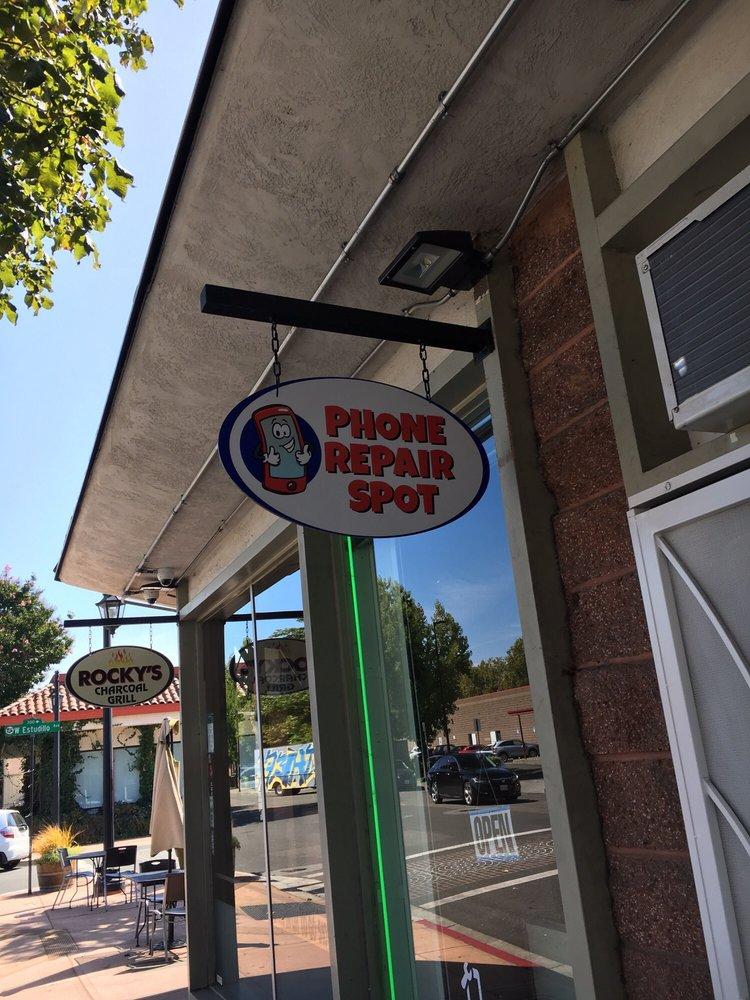 Phone Repair Spot: 1295 Hays St, San Leandro, CA