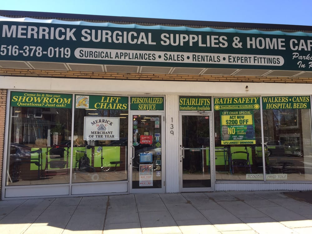 Merrick Surgical Supplies & Home Care: 139 Merrick Ave, Merrick, NY
