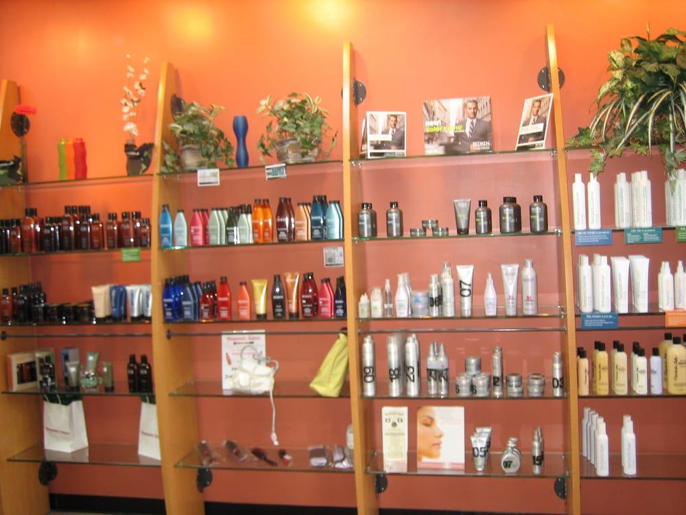 Retail products redken american crew biolage for Sams salon