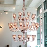 Bronze Pots From Studio Photo Of Moss   New York, NY, United States. Cloud  Chandelier From Venice ...
