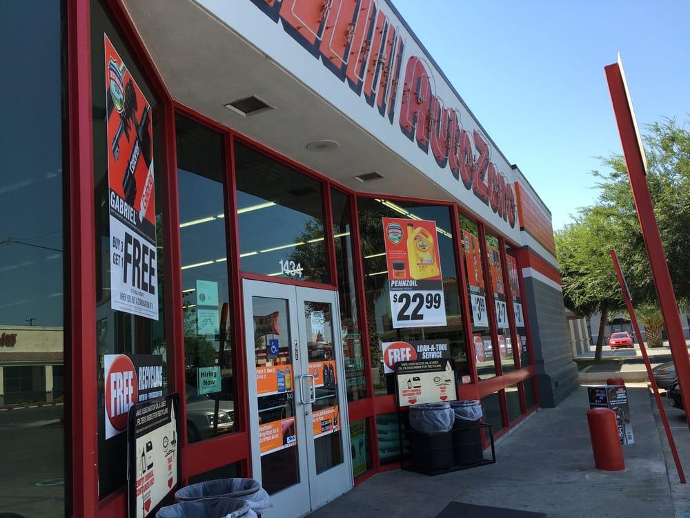 AutoZone Auto Parts: 1434 High St, Delano, CA