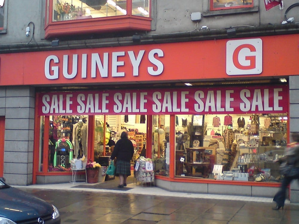 Michael Guineys Department Stores 93 Talbot Street