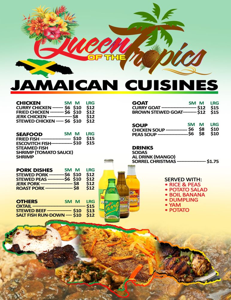 Queen Of The Tropic Restaurant: 733 S Main St, Phillipsburg, NJ