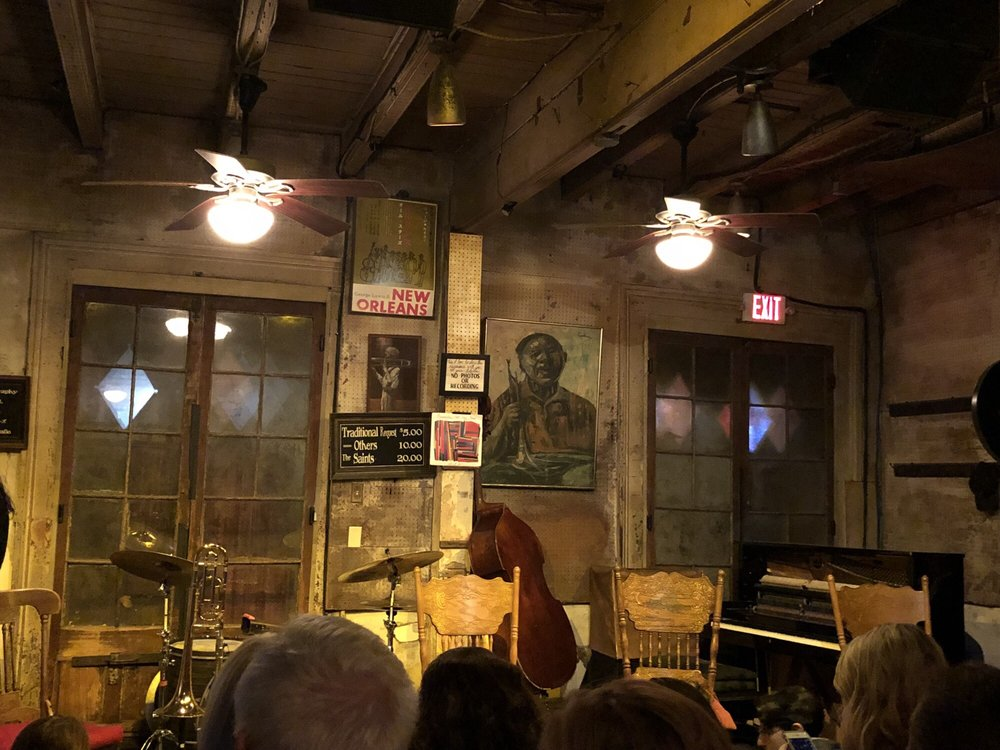 Preservation Hall: 726 St Peter St, New Orleans, LA