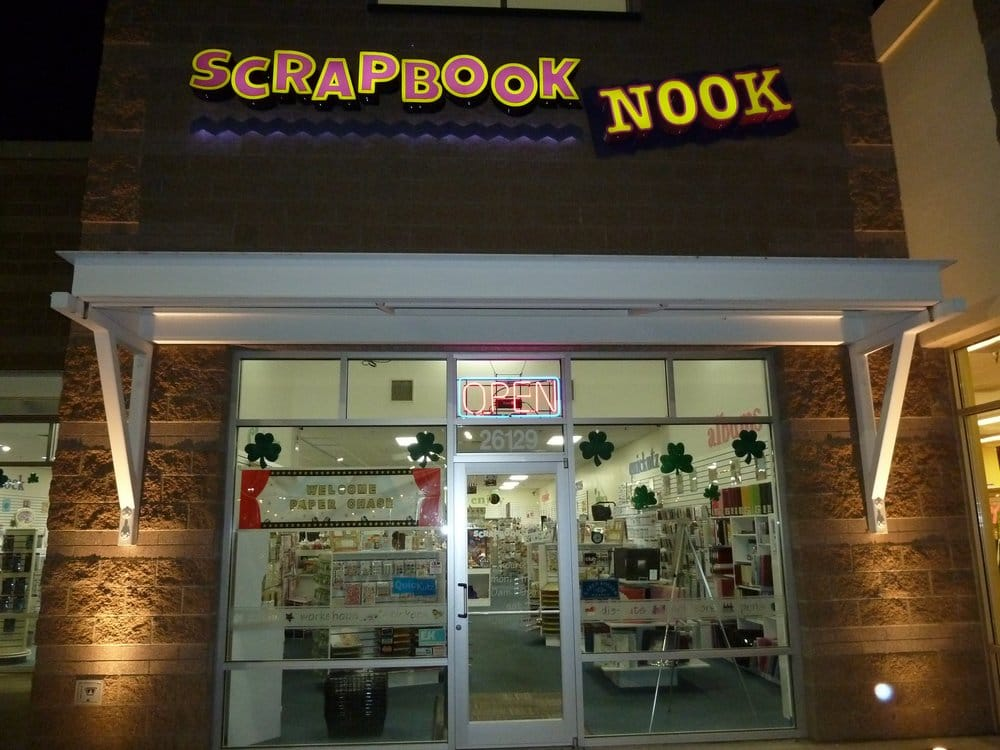 Scrapbook Nook Closed Art Supplies 26129 104th Ave Se Kent