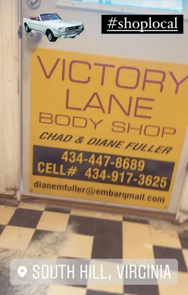 Victory Lane Body Shop: 604 Plank Rd, South Hill, VA