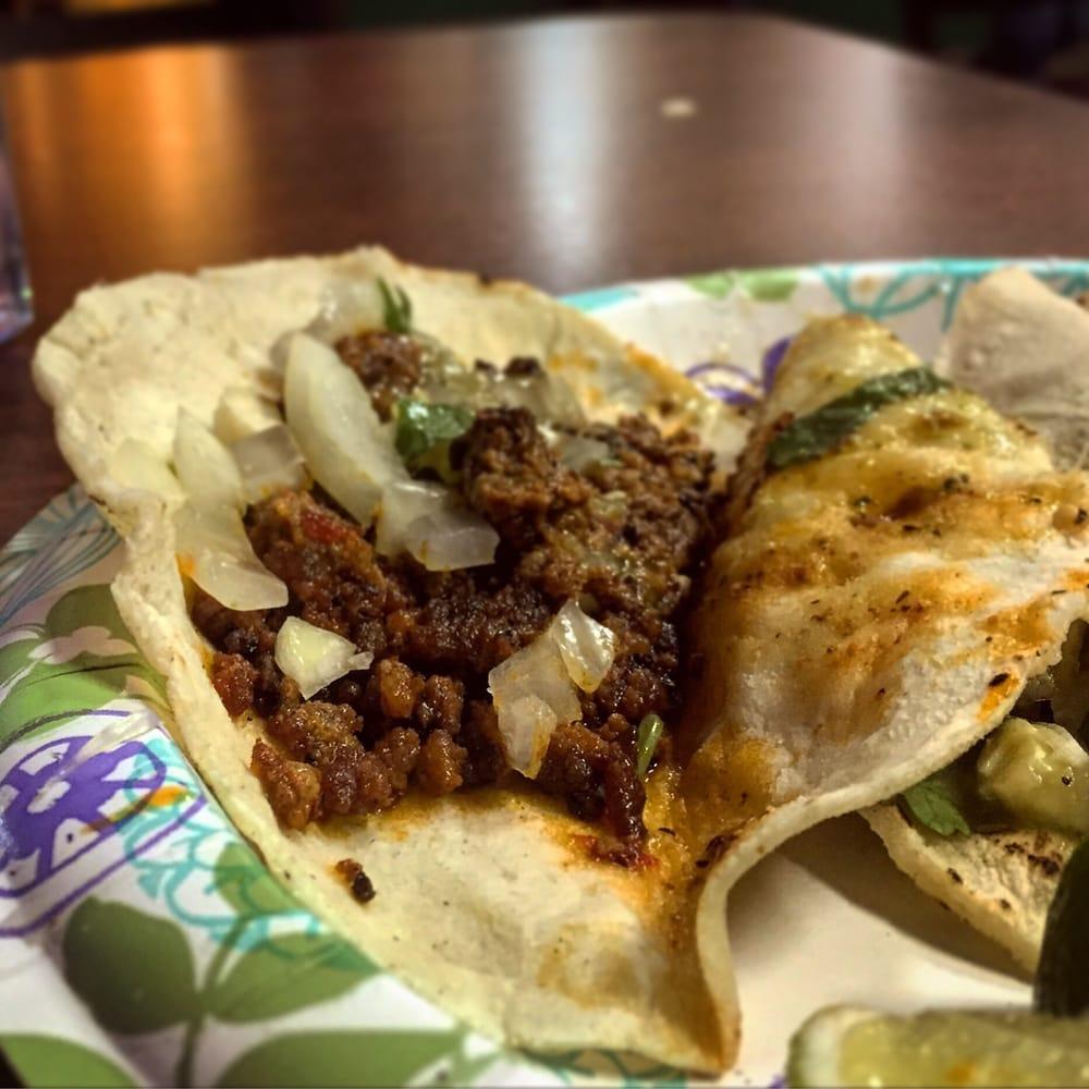 Taco De Chorizo--YUM!