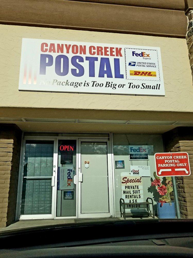 Canyon Creek Postal
