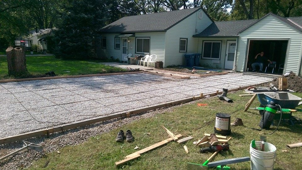 Driveway Before The Pour Yelp