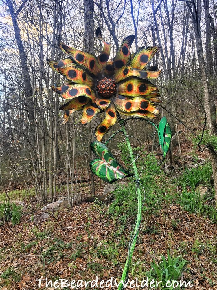 Metal Flower's by The Bearded Welder: 8475 Lancaster Ave, Bethel, PA