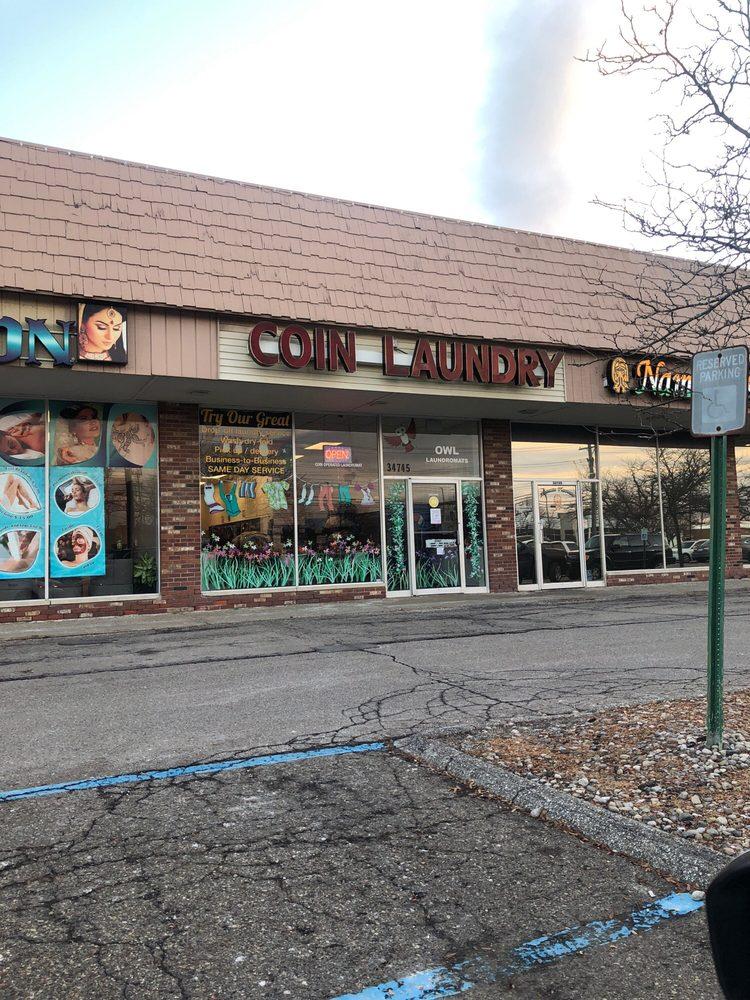 Owl Laundromats: 34745 Grand River Ave, Farmington, MI