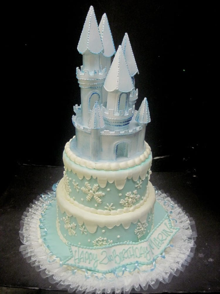 My Daughters 2nd Birthday Cake Frozen Theme It Was Delicious