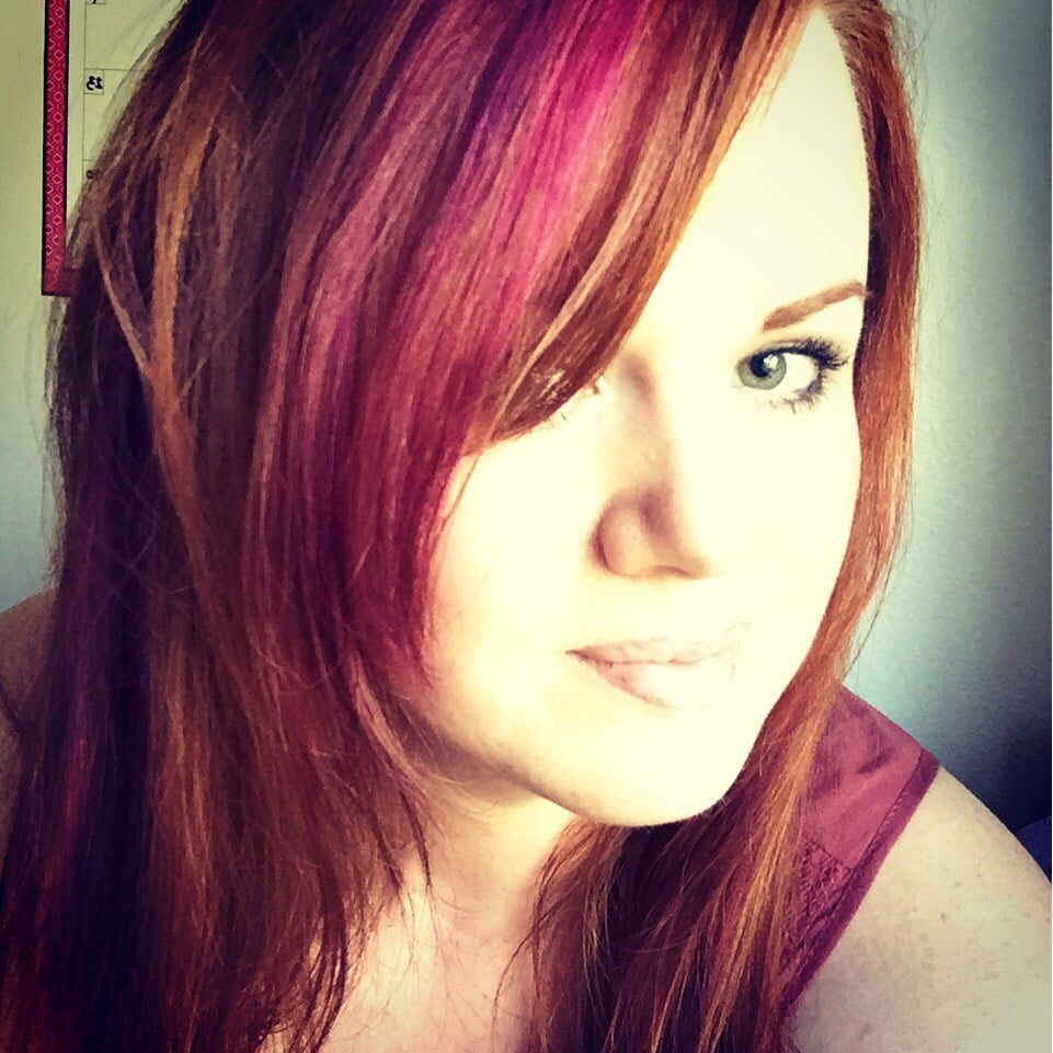 Love My Pink And Purple Streaks In My Red Hair Yelp