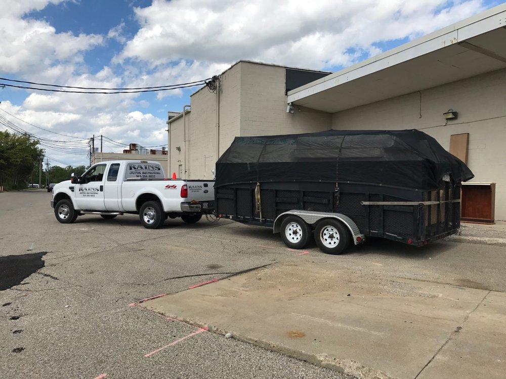Rains Junk Removal & Dumpster Rental: 9018 Cincinnati Columbus Rd, West Chester, OH