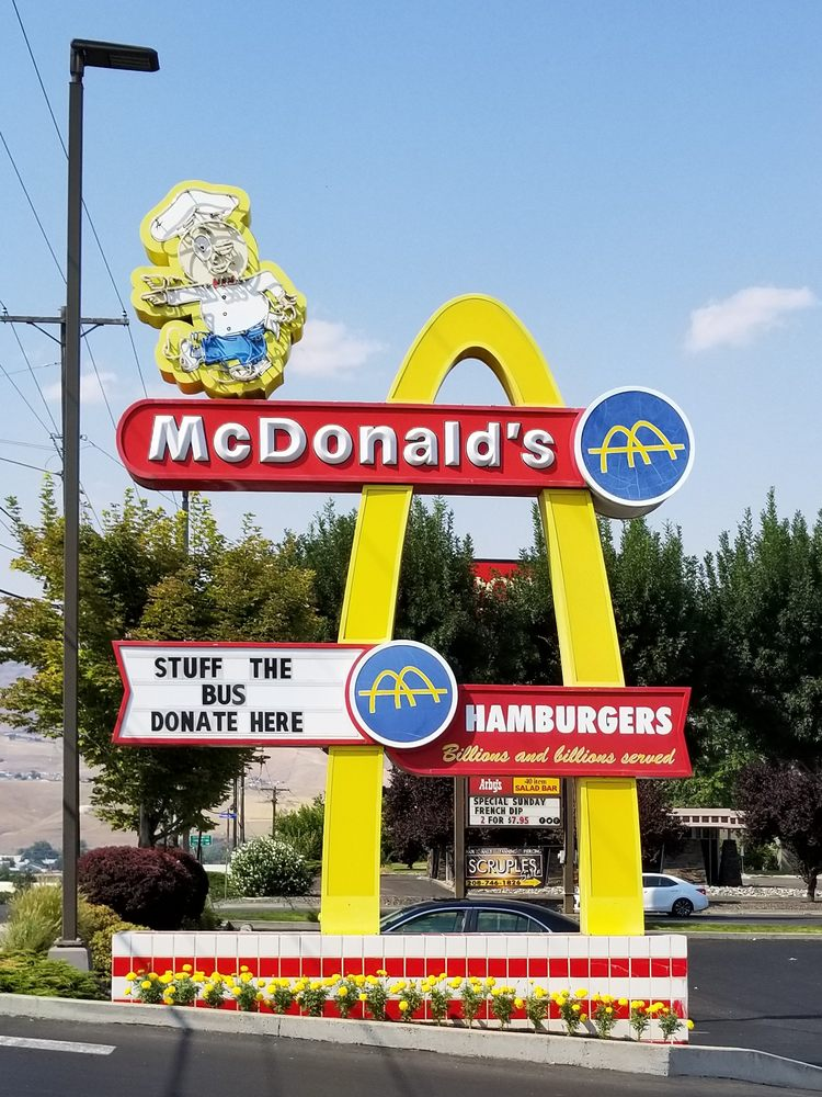 McDonald's: 711 21st St, Lewiston, ID