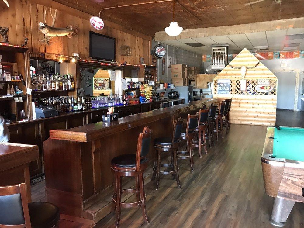Old Brand Saloon: 203 Taylor St, Saco, MT