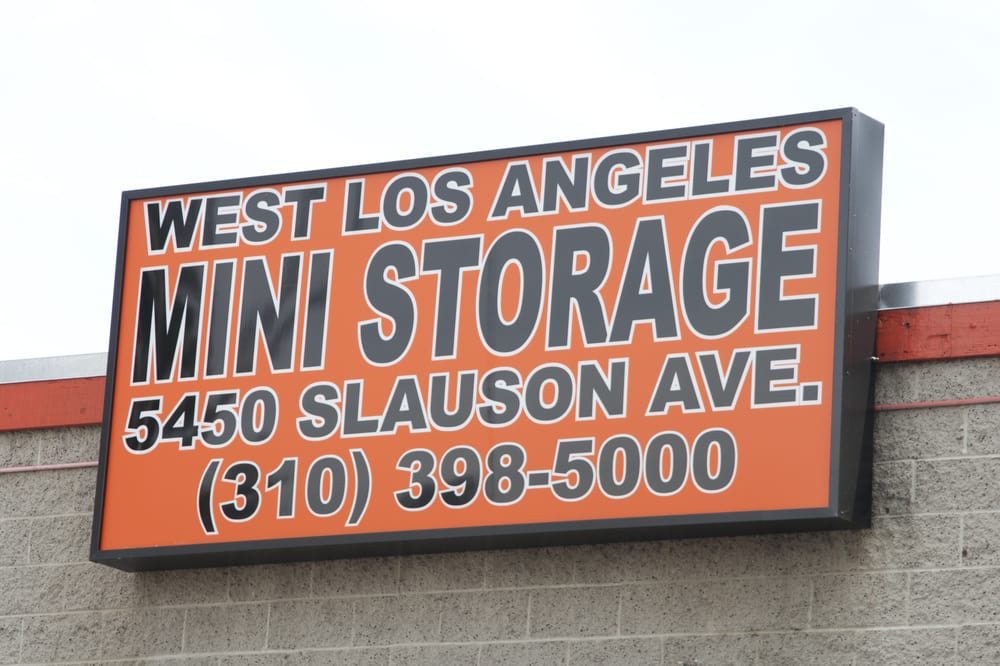 ... Photo Of West L A Mini Storage Culver City Culver City Ca United ...