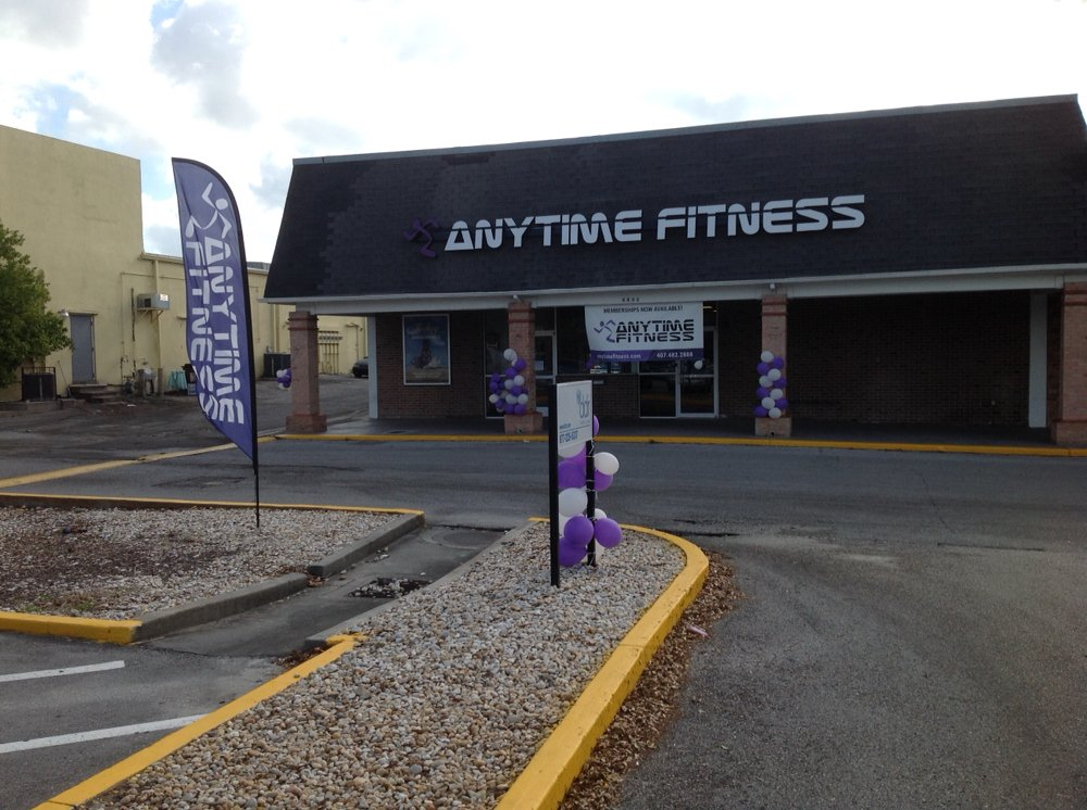 Anytime Fitness: 4446 Curry Ford Rd, Orlando, FL