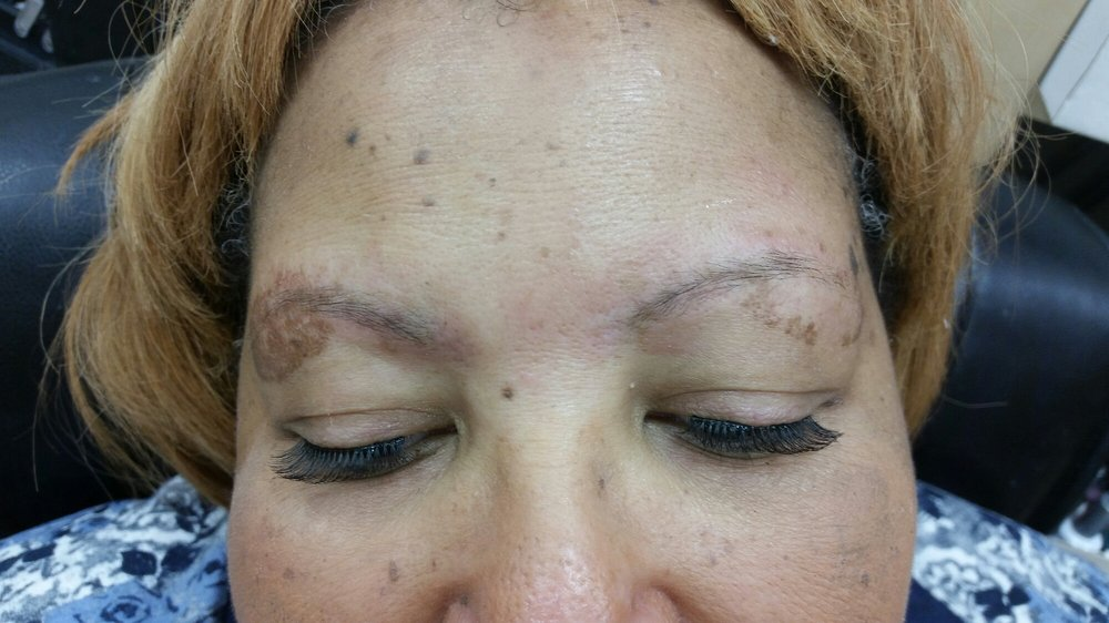 Before Eyebrow Tint Yelp