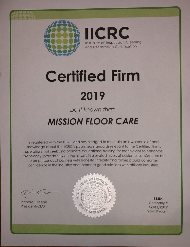 Mission Floor Care