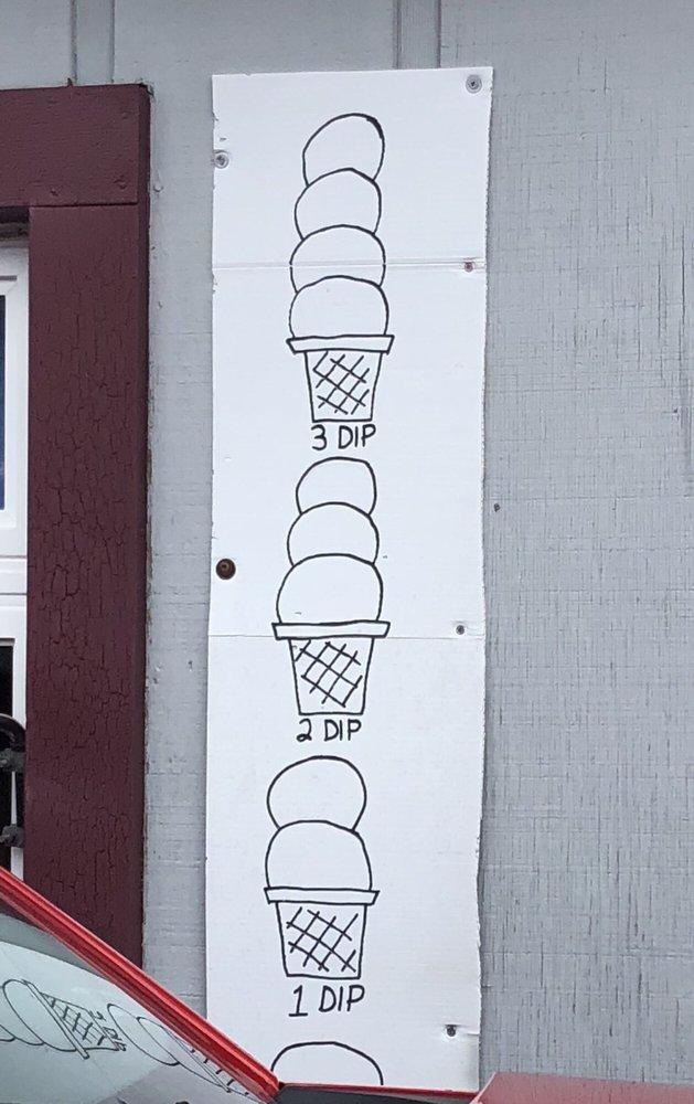Kelly's Ice Cream: 604 W Main St, Greentown, IN