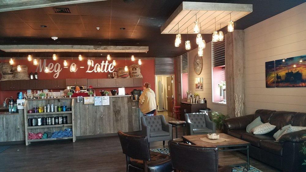 Meg-A-Latte Coffee House: 721 26th St W, Williston, ND