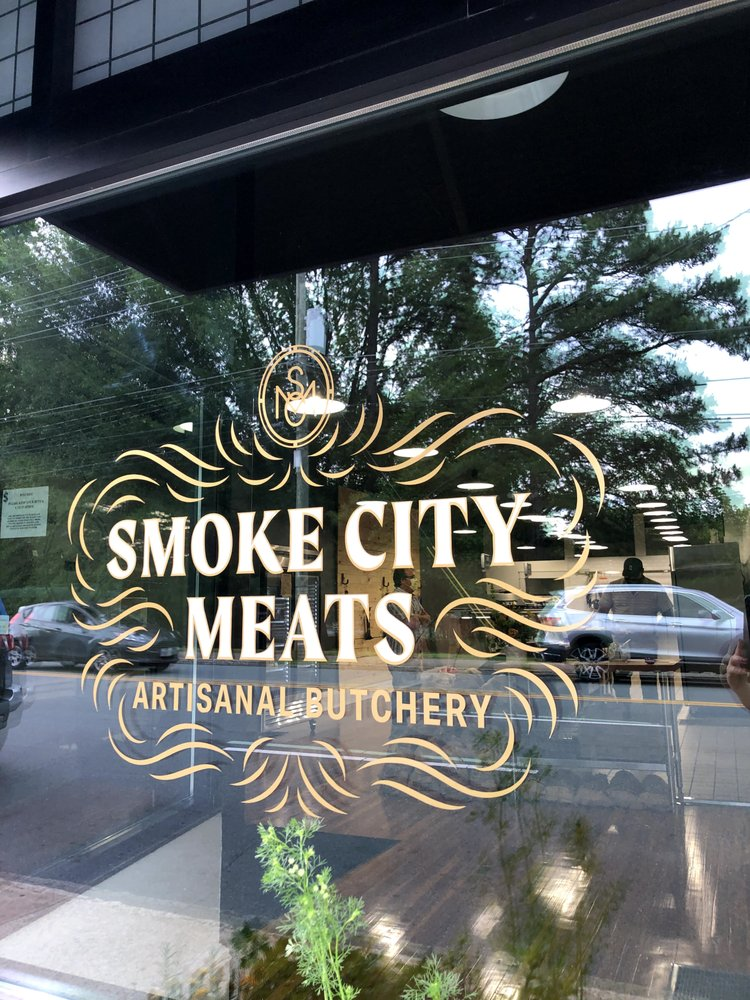 Food from Smoke City Meats