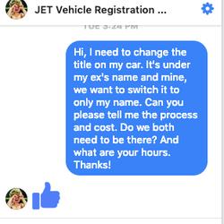 Vehicle Registration Ca >> Jet Vehicle Registration Services Registration Services 664