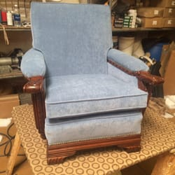 Local Services Furniture Reupholstery · Photo Of Robertou0027s Sofa Factory    Phoenix, AZ, United States. Reupholstered Antique Chair