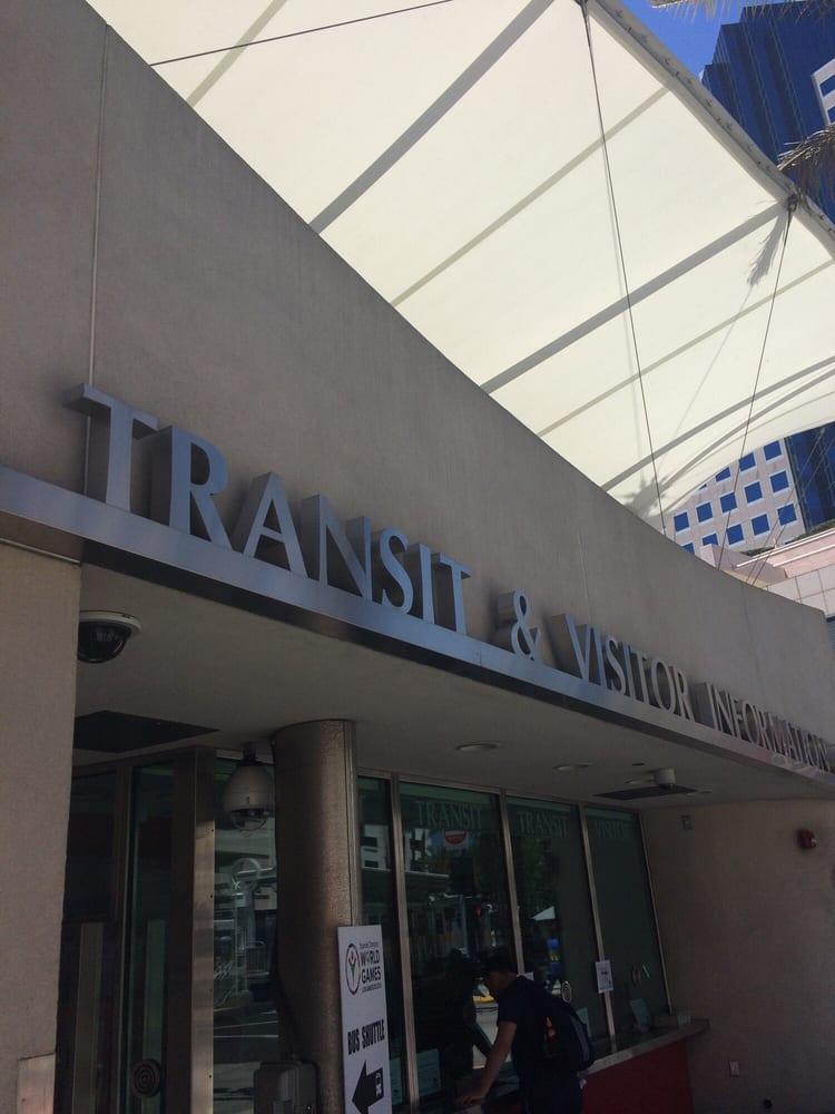 Transit & Visitor Information Center