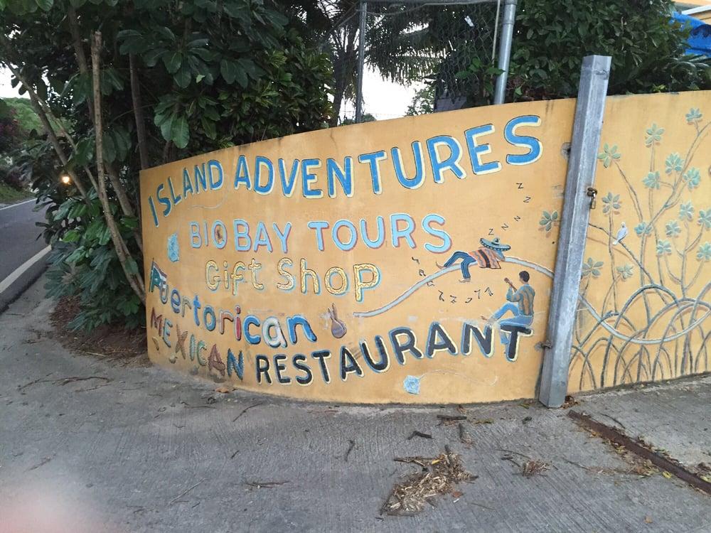 Island Adventures Biobay Tours Vieques