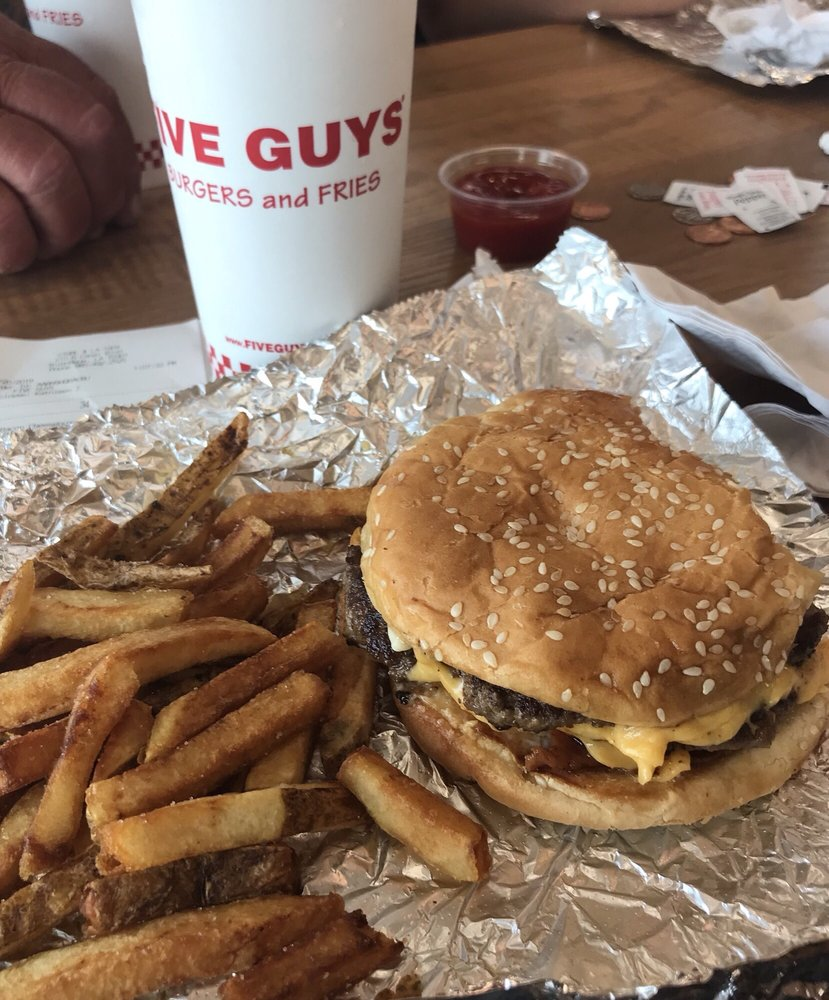 Food from Five Guys