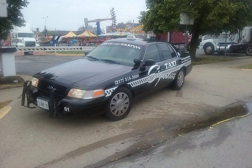 Signature Taxi Decatur: 214 N Franklin St, Decatur, IL