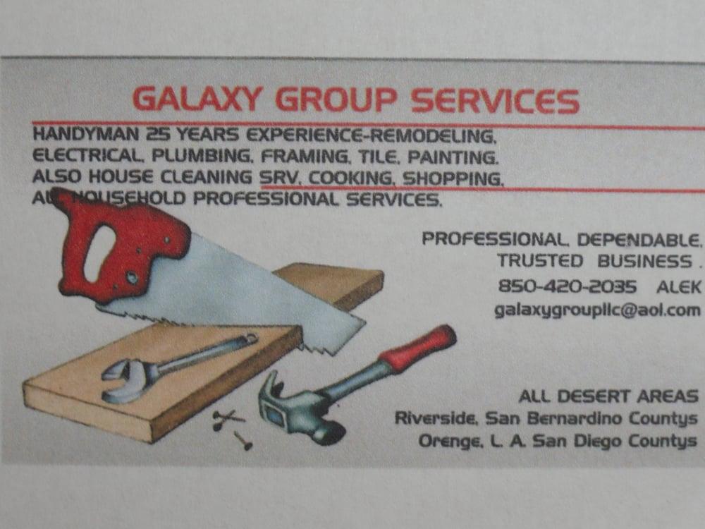 Handyman Galaxy Group Services - Handyman - Palm Desert ...