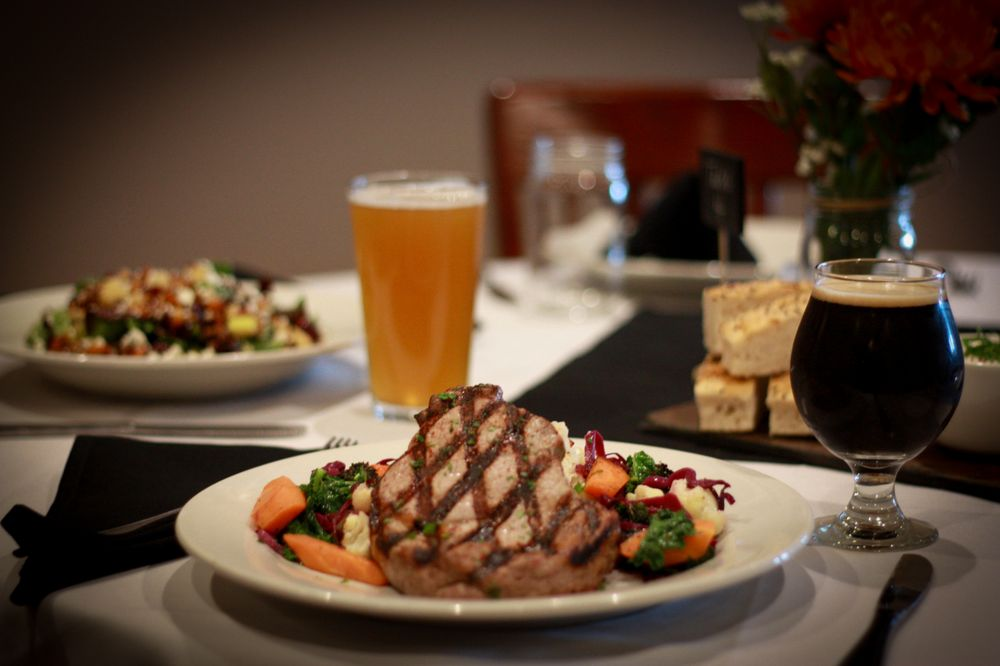 Food from Engrained Brewery & Restaurant