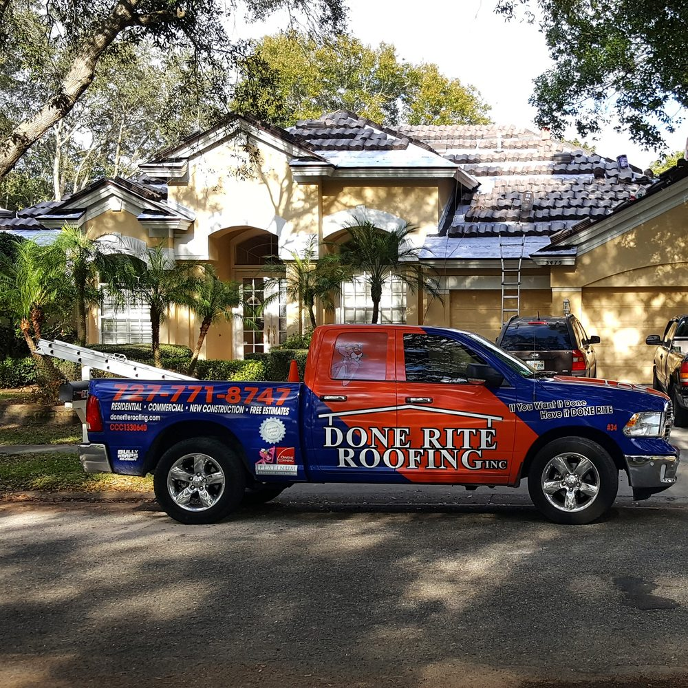 Done Rite Roofing 19 Photos 17 Reviews 1506 S Hillcrest Ave Clearwater Fl Phone Number Yelp