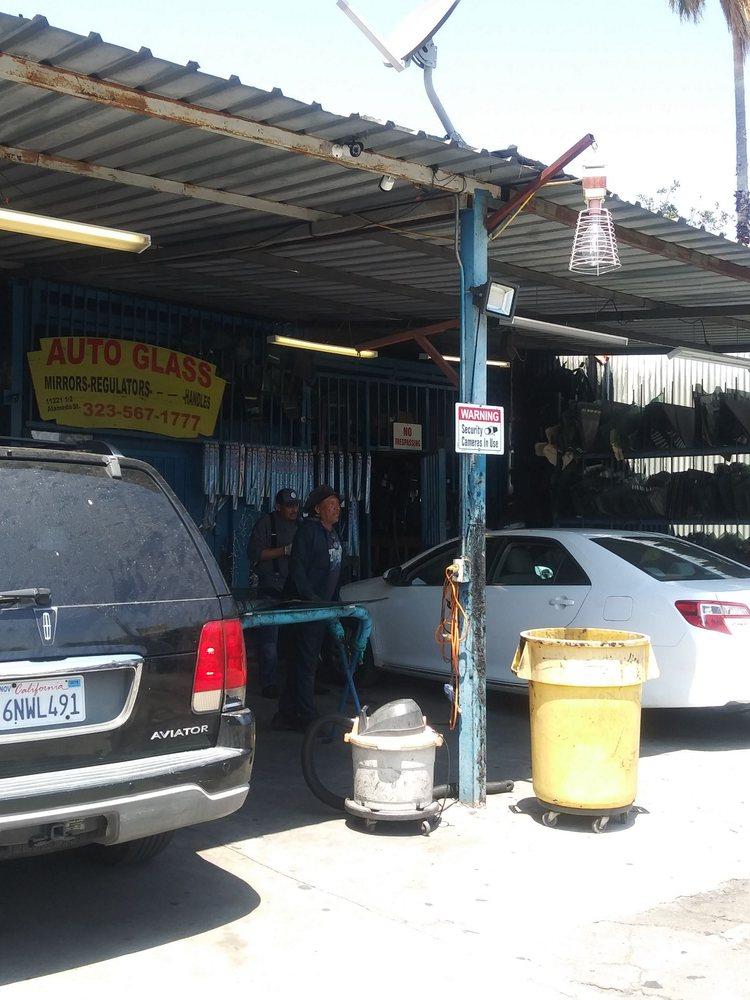 El Flaco Auto Glass: 11221 S Alameda St, Los Angeles, CA